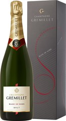Champagne Gremillet Brut Blanc de Noirs 0,75L dárkové balení