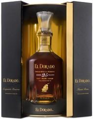 El Dorado Rum 25 YO 70cl, 43%, dárkové balení
