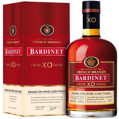 Bardinet French Brandy XO Grand Cru Wine Cask Finish 70cl, 40%, dárkové balení