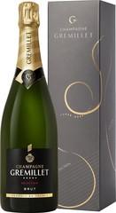 Champagne Gremillet Brut Sélection 0,75L , dárkové balení
