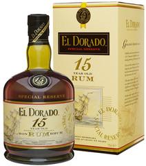 El Dorado Rum 15 YO 70cl, 43%, dárkové balení