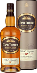 Glen Turner Single Malt Scotch Whisky 12 YO 70cl, 40%, dárkové balení