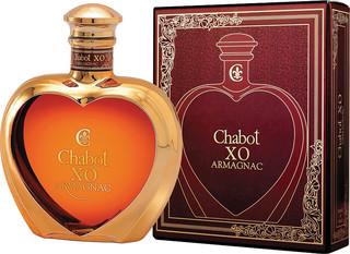 Armagnac Chabot XO Coeur 50cl, 40%, dárkové balení