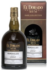El Dorado Rum Versailles 2002 Rare Collection 70cl, 63%