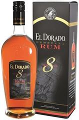 El Dorado Rum 8 YO 70cl, 40%, dárkové balení