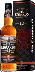 Sir Edward´s Blended Scotch Whisky 12YO, 70cl, 40%, dárkové balení