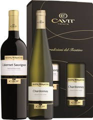 Cavit Mastri 2 x 0,75L, Chardonnay + Cabernet Sauvignon