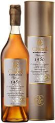 Armagnac Chabot Vintage 1980, 70cl, 40%, dárkové balení