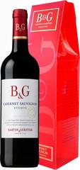 Barton & Guestier Cabernet Sauvignon Reserve 0,75L, dárkové balení červené