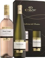 Cavit Mastri 2 x 0,75L, Chardonnay + Pinot Grigio Rosato