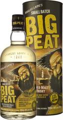 S-DL001 Big Peat Blended Malt Scotch Whisky 70cl, 46%, dárkové balení
