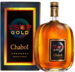 Armagnac Chabot VSOP Gold 70cl, 40%, dárkové balení